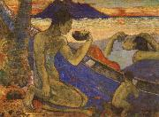 Paul Gauguin The Dug-Out china oil painting reproduction